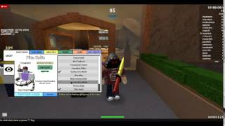 Roblox twisted murderer the code of pika knife and the new gun