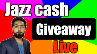 Jazz Cash Giveaway Live Win Cash  Just Watch || AlirazaTv