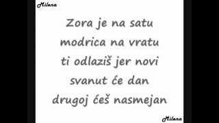Milena Ceranic-Zbog tebe mi prete tekst (lyrics)