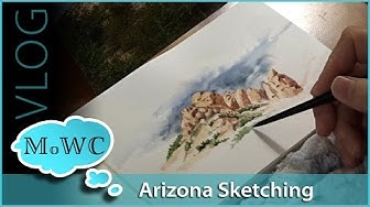 Art Stores, Art Show and Sketching in Phoenix – Vlog