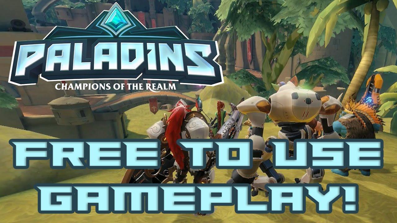 Paladins Free To Use Gameplay Paladins Online Novaisback Full Hd Reupload