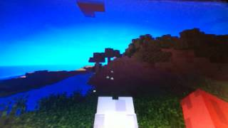 Minecraft PC game play