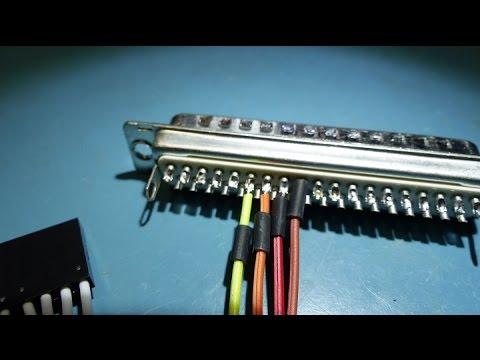 Land Boards - Soldering DB Connectors
