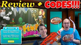ROBLOX PEW PEW SIMULATOR REVIEW & CODES