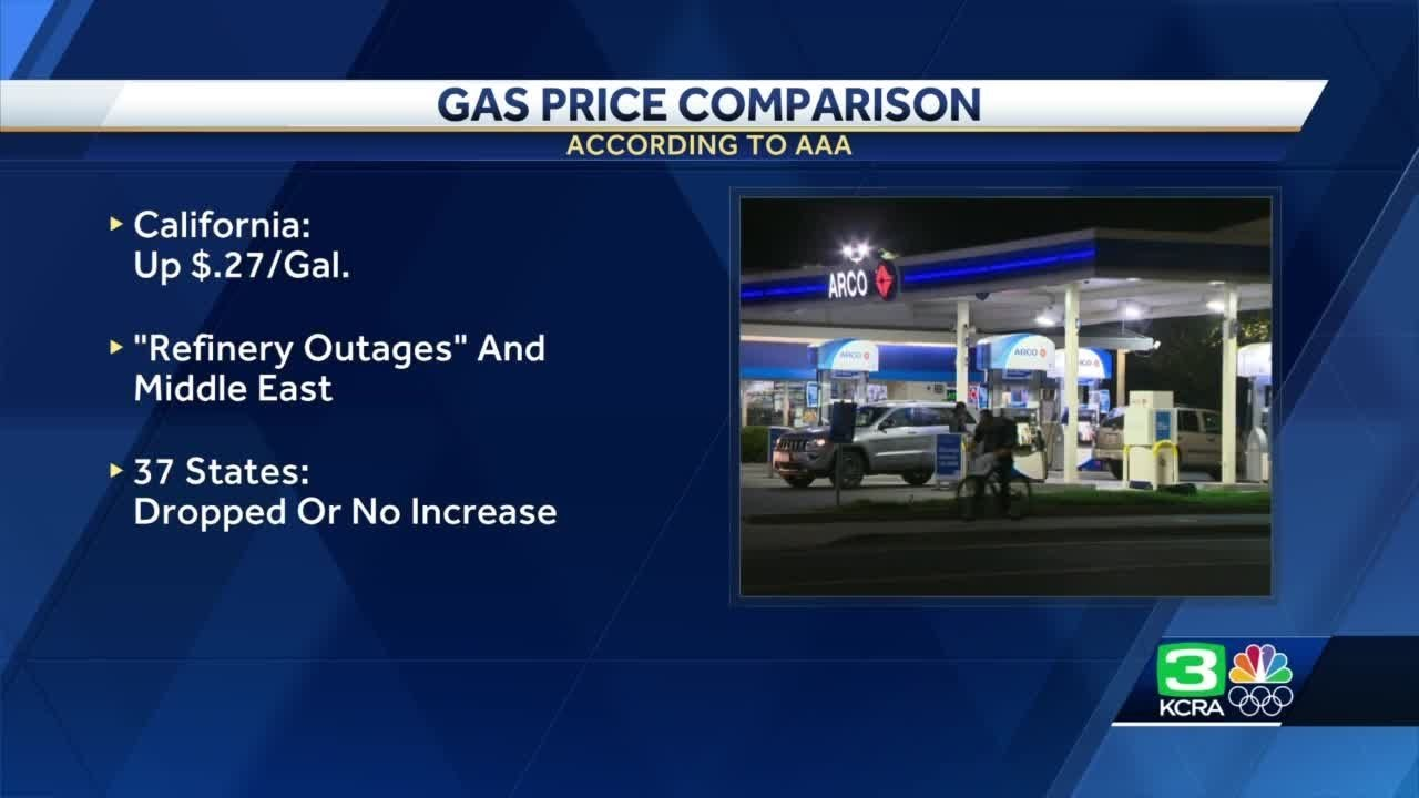 Arco Gas Prices >> Gas Prices Continue To Rise In California