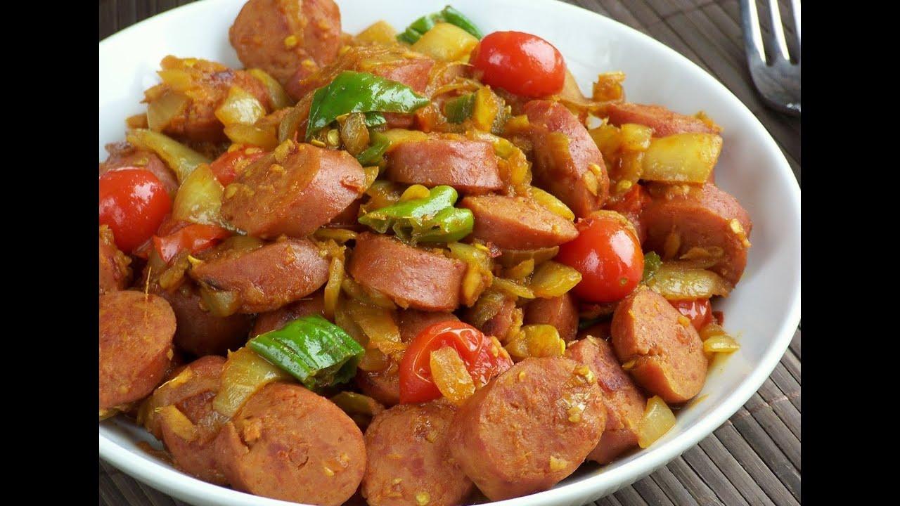 طريقة عمل السجق بلخضار على الطريقة المصرية How To Make Sausage With Vegetable Youtube