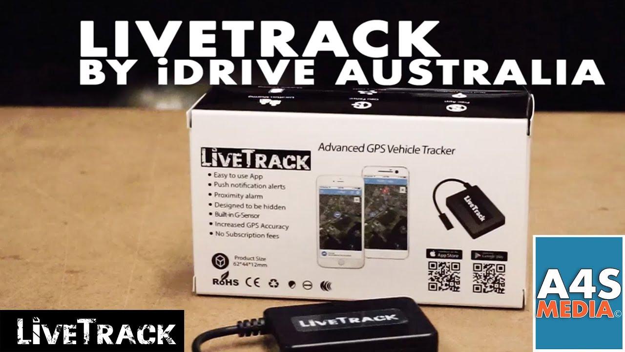 LiveTrack GPS Tracker by iDRIVE Australia