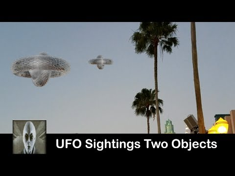 UFO Sightings Two Objects Spotted Great Footage