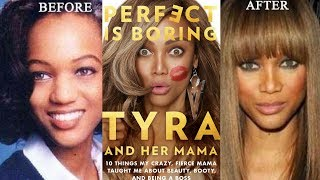 """Tyra Banks FINALLY ADMITS to getting a NOSE JOB saying """"FIX IT or FLAUNT IT"""" and """"I NEED MAKE UP""""!"""