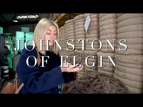 AD I Inside The Cashmere & Wool Mill Of Johnstons Of Elgin
