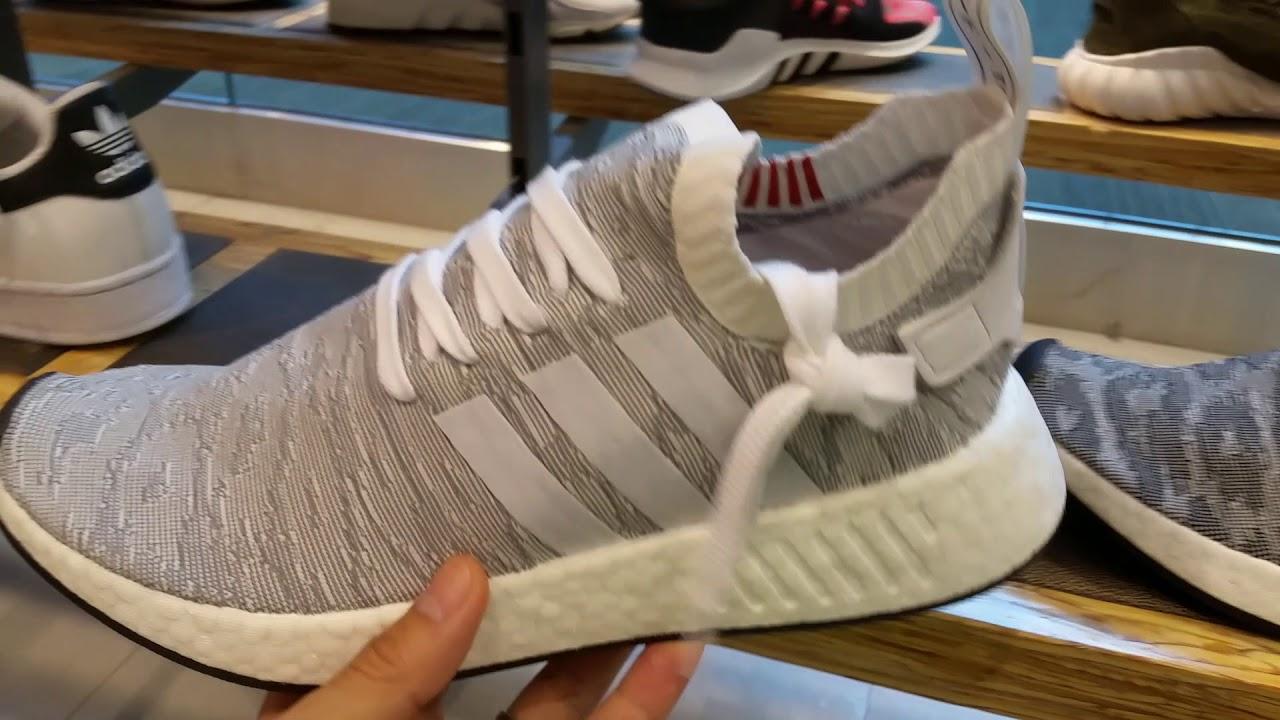 4de93c54ec5f6 New   Latest Adidas NMD R1 R2 Mesh Knit Men   Women Shoes Kicks Sneakers  Collection! Full HD 2017