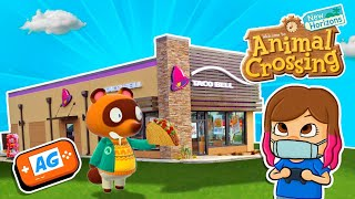 COMO Construir 1 TACO BELL en Animal Crossing NEW Horizons 🌮🌮 | Animal Crossing Español