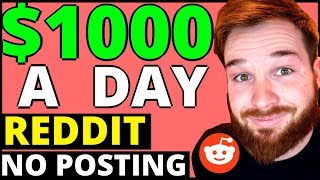 Make Money On REDDIT 2019 [WITHOUT POSTING] - Make Money Online [Earn Money Online 2019]
