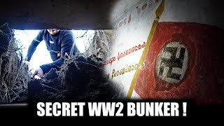 WW2 Bunker with unknown texts and remnants!