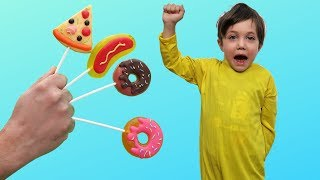 Johnny Johny Nursery Rhymes Kids Pretend Play healthy food