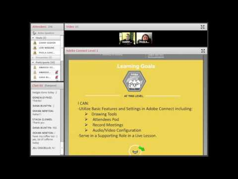 Adobe Connect Training Session Sample