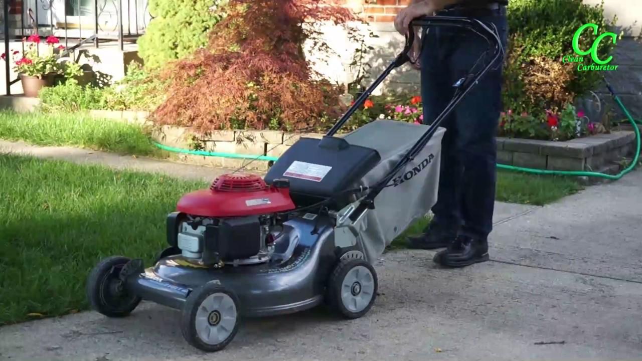 Honda Toro Lawn Mower Won T Start Cleancarburetor Permanent Fix
