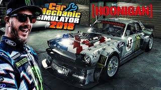 QUE RONCO LINDO!! - TÁ PRONTO! KEN BLOCK HOONICORN V2 - CAR MECHANIC SIMULATOR 2018