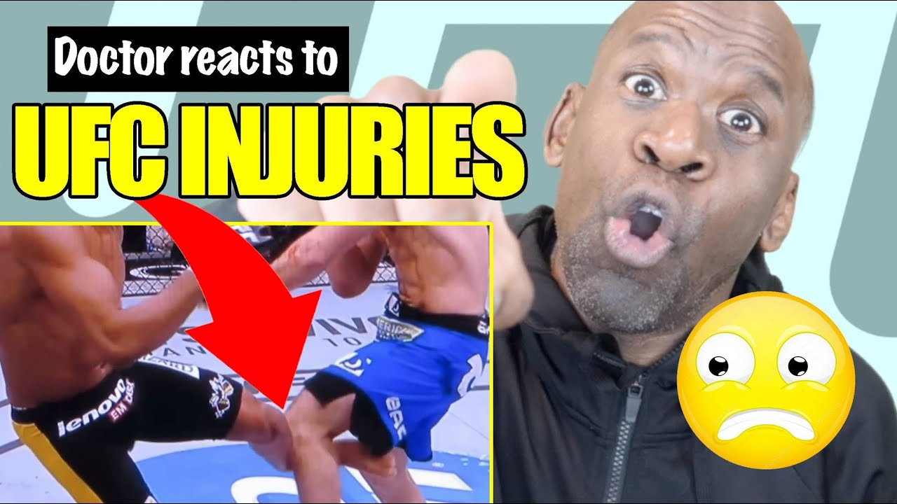 DOCTOR REACTS TO UFC/MMA INJURIES | DR CHRIS #Orthopedicsurgery