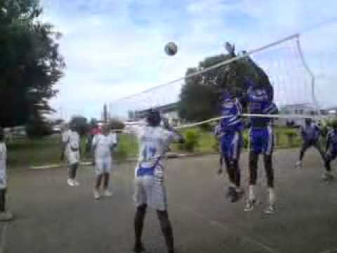gabon armée de l'air vs sapeu pompier volley-ball