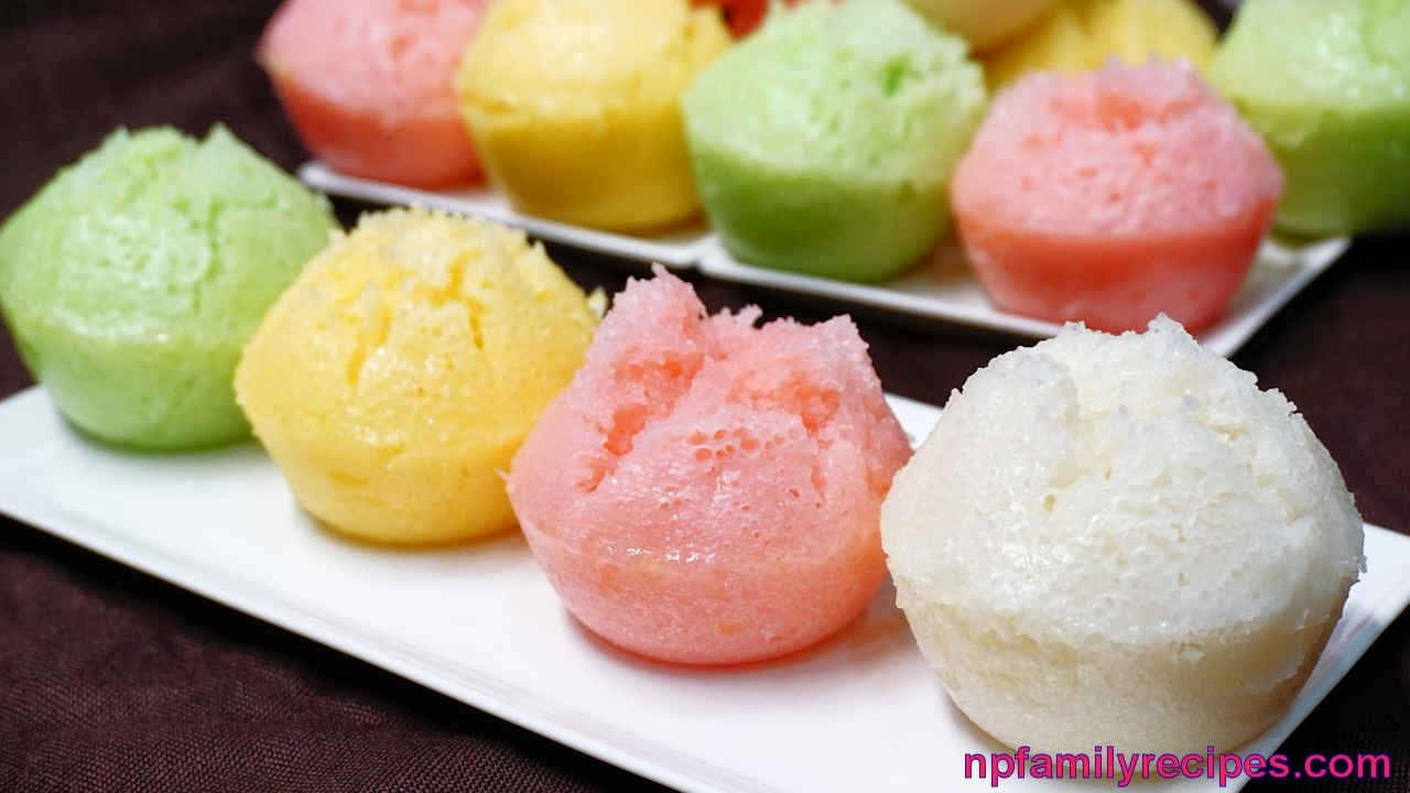 How To Make Chinese Steamed Rice Cakes