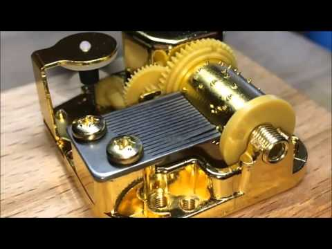 Birch music box mechanism