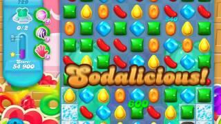 Candy Crush Soda Saga Level 729 (4th version, 3 Stars)