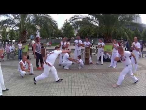 Capoeira Holidays 2016, roda de rua 15 08