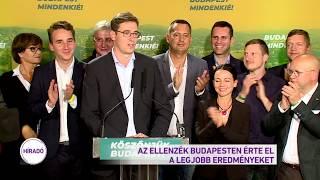 Az ellenzék Budapesten érte el a legjobb eredményt