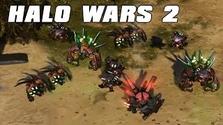 Halo Wars 2 - New Commander! Hunter Leader! Colony Gameplay