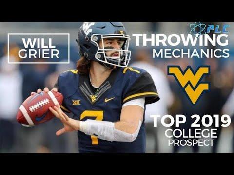 Top 2019 College Quarterback Mechanics | Will Grier Throwing Breakdown | NFL Prospect for 2019 Draft