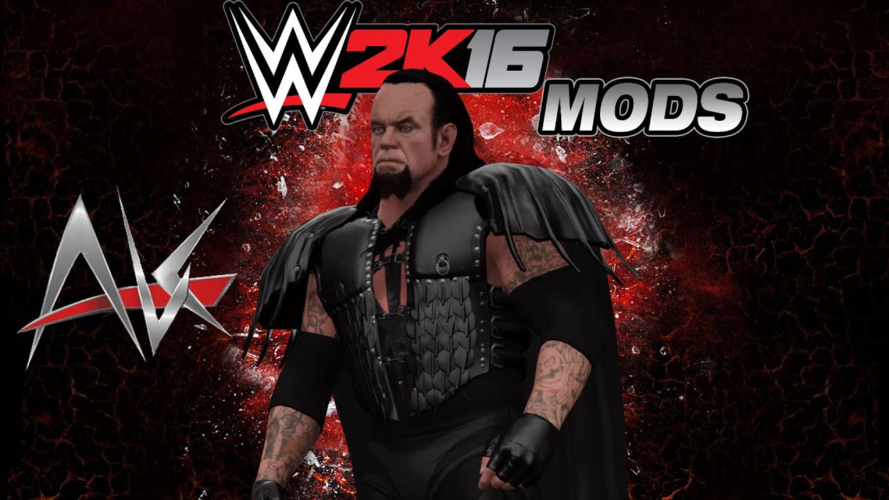 WWE 2k16 PC Mods - Undertaker WrestleMania 15 Attire - YouTube