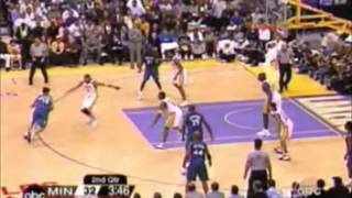 Shaquille O'Neal - Leading the Lakers over Garnett and the Wolves (34 points, 2003 Playoffs)
