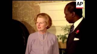 MARGARET THATCHER - BRITISH PRIME MINISTER 1979 - 1990