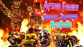 SFM/FNAF| The Destroyed Happiness | Afton Family - KryFuZe (Remix by Russell Sapphire)