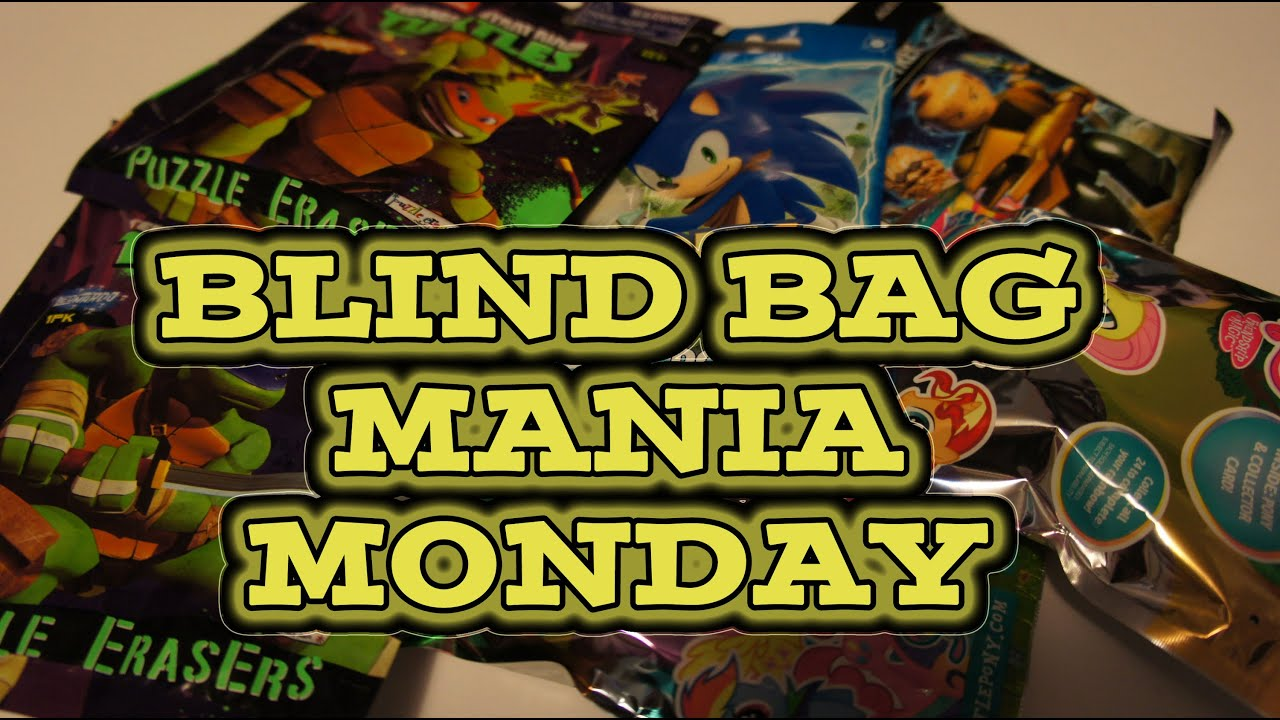 Blind Bag Mania Monday Sonic Boom Dog Tags Mlp Wave 11