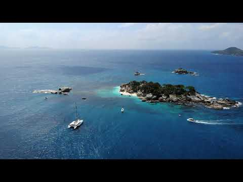 Seychelles tropical honeymoon destination