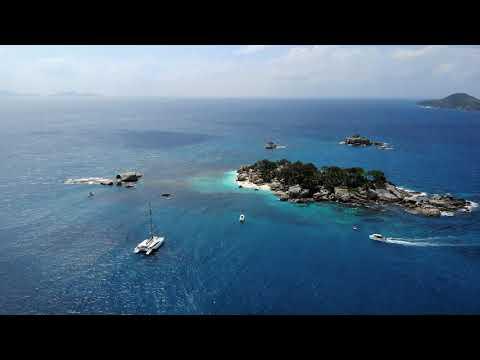 Seychelles tropical honeymoon destination