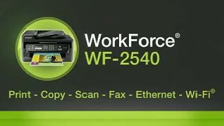 Epson WorkForce WF-2540 Inkjet Printer for Business