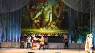 В славянском стиле Шербакульская библиотека им  Р  И  16 марта 2013 г  Омск Музыкальный театр~1