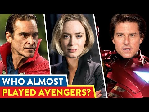Actors Who Missed Their Chance For MCU  ⭐OSSA