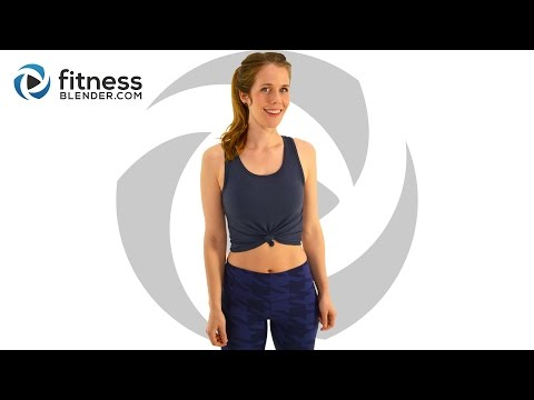 Fat Burning HIIT Cardio Workout With No Equipment: At Home Cardio HIIT Workout