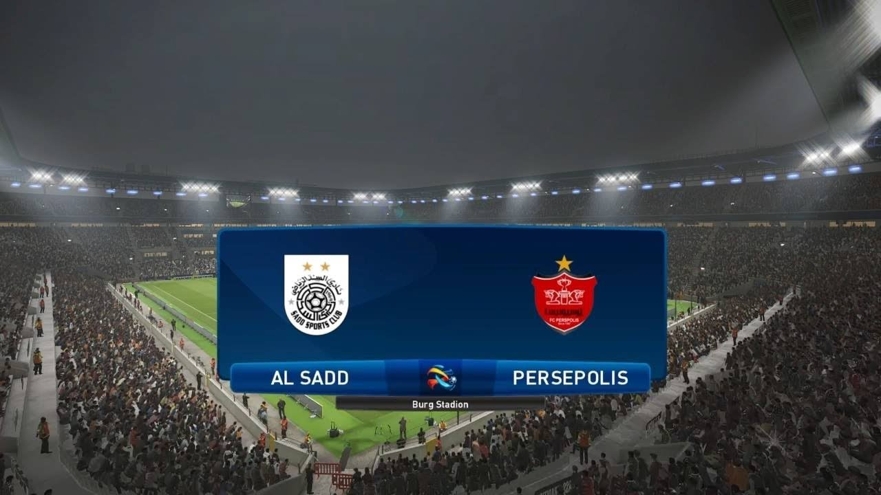PES 2019 | AL Sadd vs Persepolis - ASIA | AFC Champions League 2018 | Full  Gameplay (PS4/Xbox One)