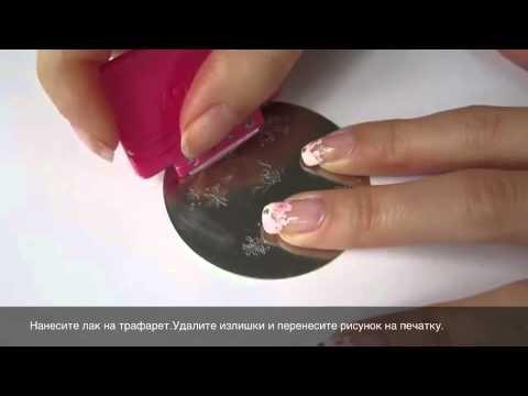 Маникюра с рисунками на ногтях - онлайн видео-уроки