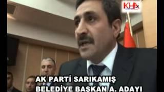 ak parti sarıkamış belediye başkan aday adayı mustafa yurt www kha com tr kafkas haber ajansı