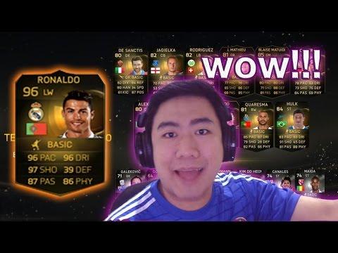 ทุ่มทุนสร้าง1ล้าน!! ตามล่าเจ็ตโด้อินฟอร์ม!!! FIFA15 PACK OPENING!!!
