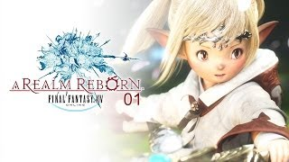 Let's Play: Final Fantasy XIV A Realm Reborn [PS4] #01