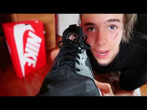 NIKE AIR HUARACHE – UNBOXING – OUTFITS – TEST ON FOOT