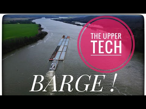 River Heights- I Got To Drone A Barge! | the Upper Tech