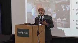 Anil Shah Speech at Fleming College